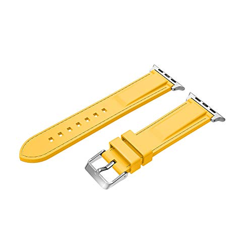 (iZHH Quick Release Watch Strap New Fashion Sports Silicone Bracelet Strap Band For Apple Watch Series 4 44mm)
