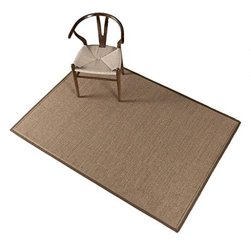 Yuqianjin Natural Sisal Fiber Series Room Carpets Living Room Rugs Sisal Carpet (Size : 47.2466.92in)