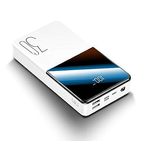 QIANYAC Batería Externa Portátil 30000mah Power Bank con Qc ...