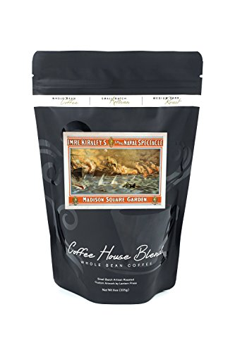 Grand Naval Spectacle Madison Square Garden Poster (8oz Whole Bean Small Batch Artisan Coffee - Bold & Strong Medium Dark Roast w/ - Square Spectacles