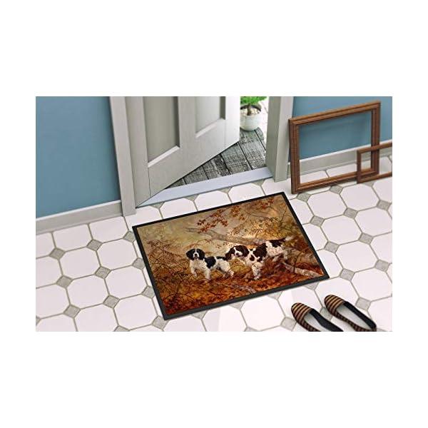 Caroline's Treasures HEH0139MAT Springer Spaniels by Elizabeth Halstead Indoor or Outdoor Mat 18x27, 18H X 27W, Multicolor 2