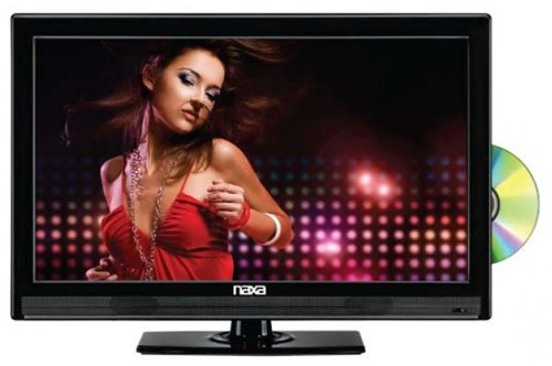 NAXA Electronics NTD-1952 19-Inch Widescreen HD LED TV with Built-In Digital TV Tuner and USB/SD Inputs and DVD Player