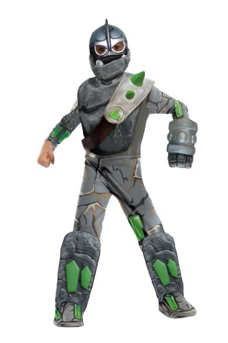 [Skylanders Giants Deluxe Crusher Costume, Medium] (Dreidel Costumes)
