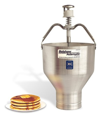 Belshaw Adamatic 8504011 Type K Pancake Dispenser, Aluminum