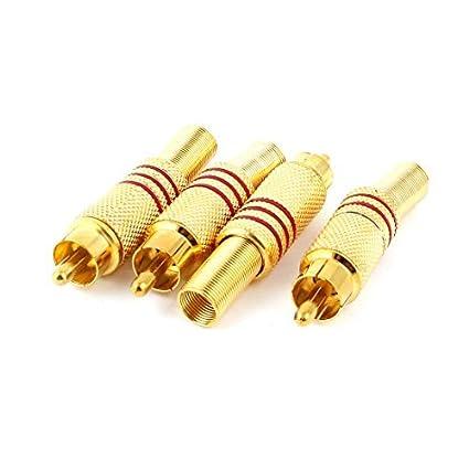 Amazon.com: eDealMax Adaptador de conector de Cable 4 piezas ...
