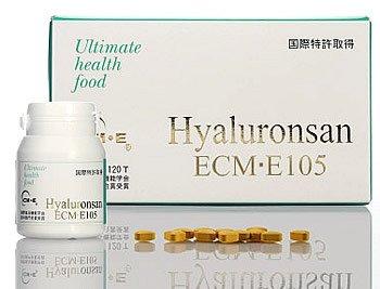 ホワイトリリー ヒアルロンサンECM-E105 120粒 B001L2L2KS