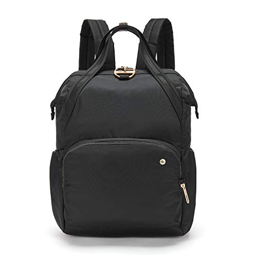 PacSafe Women's Citysafe CX 17L Anti Theft Backpack-Fits 13 inch Laptop, Black (Best Way To Send Gifts To India From Usa)