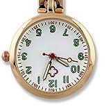 NICERIO Nurse Clip on Watch Durable Fob Watch