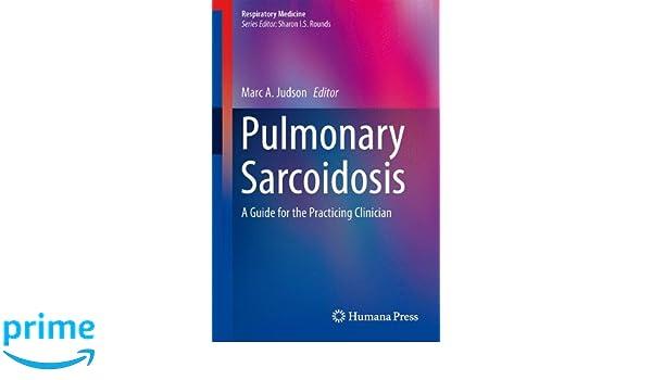 pulmonary sarcoidosis judson marc a