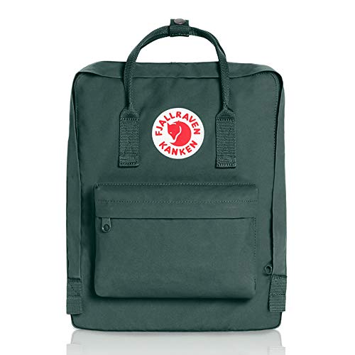 Fjallraven - Kanken Classic Pack, Heritage and Responsibility Since 1960, One Size, Forest Green