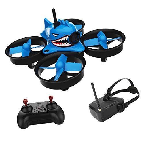 MagiDeal Mini Shark RC Quadcopter Drone Pocket Helicopter Kids Children -