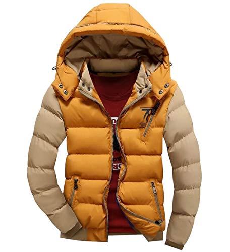 Addensare Ttyllmao 1 Cotone Con Imbottito Cappuccio Giù Maschile Cappotti Inverno Caldo wIxRqCq