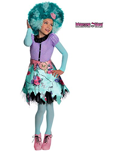 Rubies Monster High Frights Camera Action Honey Swamp Costume, Child Medium ()