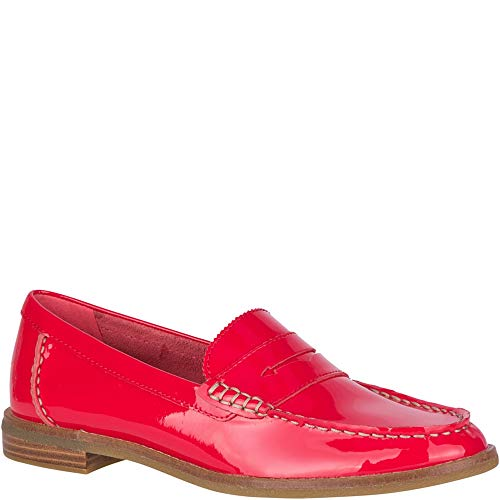 - Sperry Top-Sider Seaport Patent Penny Loafer Women 6 Red