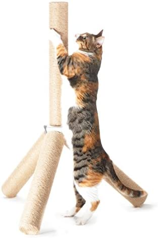[NEW] 4CLAWS Jute Tripod Scratching Post 30