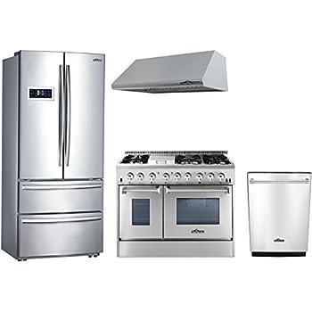 Amazon Thor Kitchen 4 Piece Stainless Steel Kitchen Package