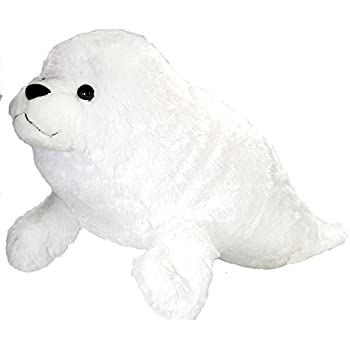 Wild Republic Jumbo Harp Seal Plush, Giant Stuffed Animal, Plush Toy, Gifts for Kids, 30 Inches