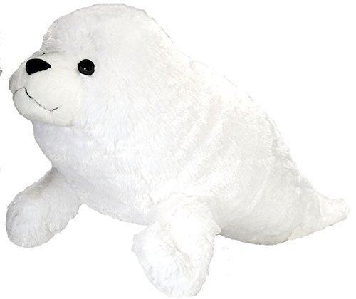 Wild Republic Jumbo Harp Seal Plush, Giant Stuffed Animal, Plush Toy, Gifts for Kids, 30 Inches -