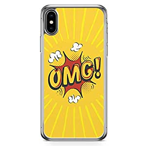 Loud Universe Case For iPhone XS Comic Omg Transparent Edge iPhone XS Case