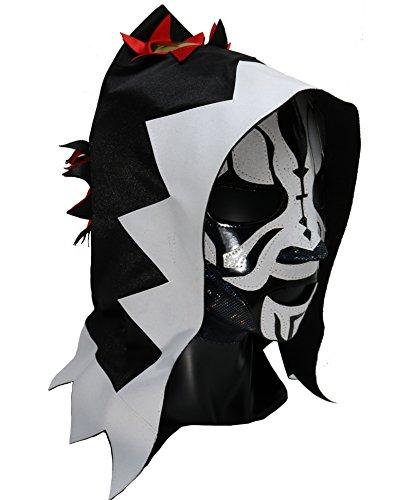LA Park Professional Lucha Libre Wrestling mask. Mascara Profesional Varios modelos (White)