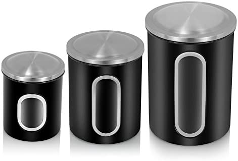 Fc Airtight Window Kitchen Canister Stainless Steel