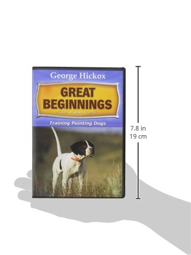 D.T. Systems Great Beginnings Training Pointing Dogs DVD