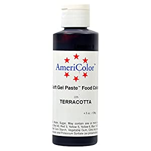 Amazon.com: TERRACOTTA SOFT GEL PASTE 4.5 OZ Cake ...