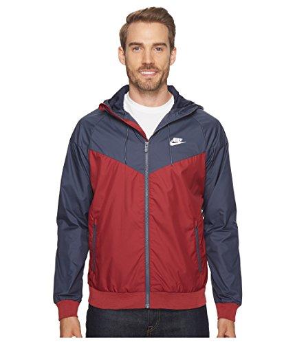 Nike Mens Windrunner Hooded Track Jacket Team Red/Thunder Blue/White 727324-679 Size 2X-Large