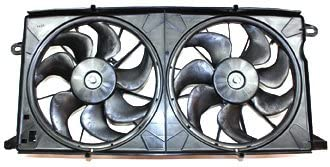TYC 621670 Chevrolet//Pontiac Replacement Radiator//Condenser Cooling Fan Assembly