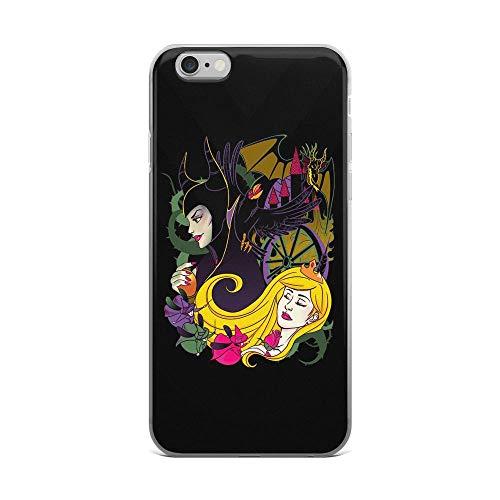 iPhone 6 Plus/6s Plus Pure Clear Case Cases Cover A True Love Kiss Fantasy Fairy Tale Cartoon ()