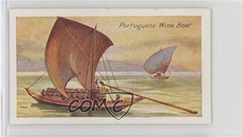 Portuguese Wine Boat (Trading Card) 1929 Nicolas Sarony Ships of All Ages - Tobacco [Base] #24