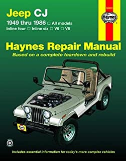 jeep cj scrambler 1971 86 chilton total car care series manuals rh amazon com Jeep 360 Engine Header Jeep 360 Engine Header
