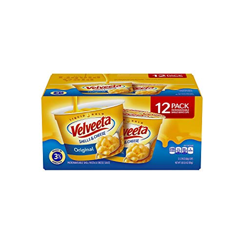 Kraft Velveeta Shells and Cheese - 12 single serve cups - 2.39 oz each