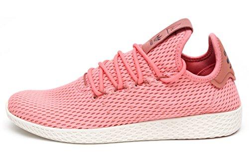 Scarpa Sportiva Adidas Uomo Pharrell Williams Tennis Hu (7 D (m) Us, Corallo)