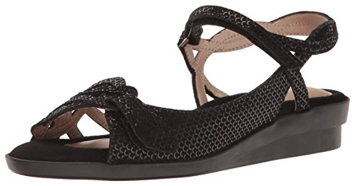 Beautifeel Women's Kali Dress Sandal, Black, 37 EU/6-6.5 M US