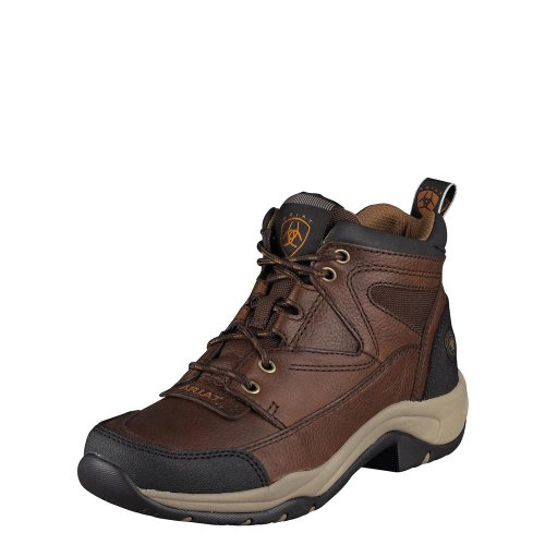 Rowdy Boots Terrain Oiled Ariat Lace Brown x4wvXq0Ta