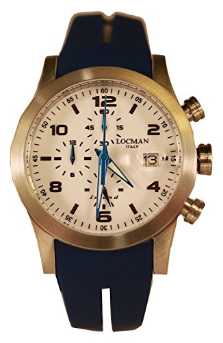 LOCMAN watch ISLAND 0618A08-00WHBKSB Men's