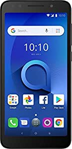 "Alcatel 1X Unlocked Smartphone (AT&T/T-Mobile) - 5.3"" 18:9 Display, Android Oreo (Go Edition), 8MP Rear Camera, 4G LTE - Dark Gray (U.S. Warranty)"