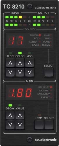 TC8210-DT Mixing Reverb Plug-in with Dedicated Hardware Controller
