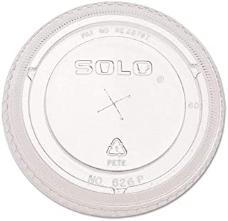 product image for Ultra Clear Dome Cold Cup Lids f/16-24 oz Cups, PET, 100/Pack, Sold as 1 Package, 100 Each per Package