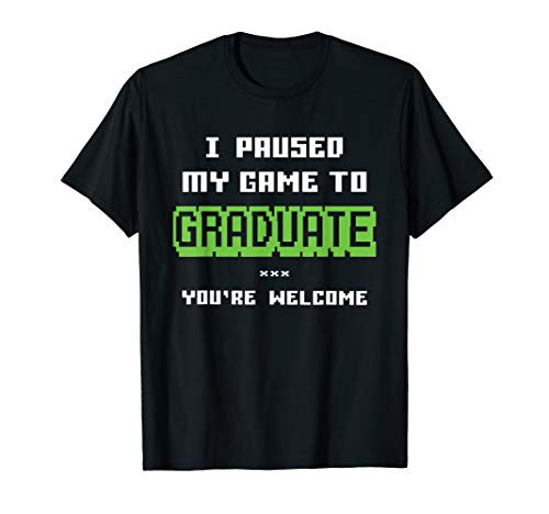 Funny College or High School 2019 Gamer Graduation Gifts T-Shirt