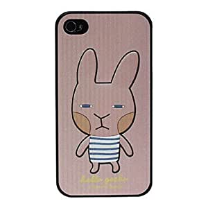 Buy Cartoon Cute Rabbite Pattern Hard Case for iPhone 4/4S