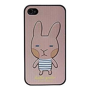 Conseguir Cartoon Caso duro lindo Rabbite patrón para el iPhone 4/4S