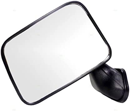 Fits 09-18 Ram 1500 Right Pass Upper Tow Mirror Glass Heated w//Rear Backing Plate OE OEBrands 68067726AA