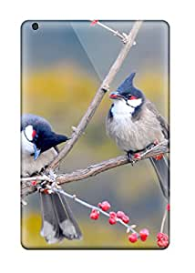 Hot Red Whiskered Bulbul Birds First Grade Tpu Phone Case For Ipad Mini 3 Case Cover 7632861K86564035