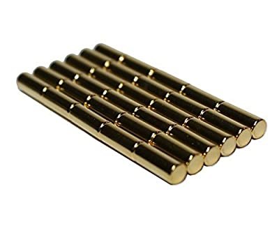 30 Gold Magnetic Metal Pins - Perfect Magnets for Maps, Whiteboards, and other metal surfaces