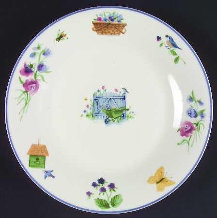 PFALTZGRAFF Garden Gate~SET/7 ~ Dinner Plates 10 3/4