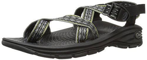 引退した修復引退したChaco Mens Zvolv2 Hook and Loop Open Toe Sport Sandals