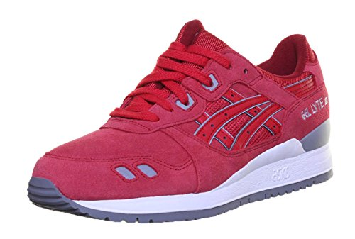 Asics Gel Lyte Iii, Chaussures De Sport Mixte Adultes Multicolores (rouge 001)