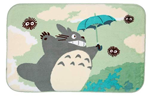 Stay Young Totoro Shaggy Area Rugs Bathroom Rugs Bedroom Rugs Living Room Carpets Super Soft Non Slip Absorbent Bath Mat Floor Mat Kitchen Rugs (19.68x31.49 Inch)